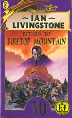 Return to Firetop Mountain #16 Fighting Fantasy Book Special Edition Livingstone