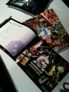 Our GA ad is placed next to the contents page in the official PAX brochure!